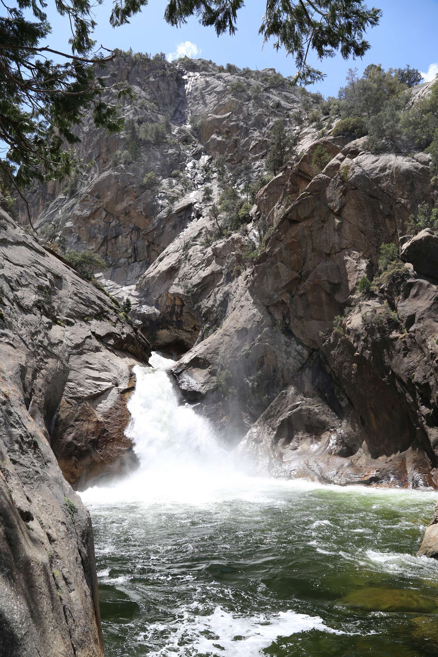 Roaring Falls in KCNP is a beautiful hike and not difficult and you get to enjoy this view.