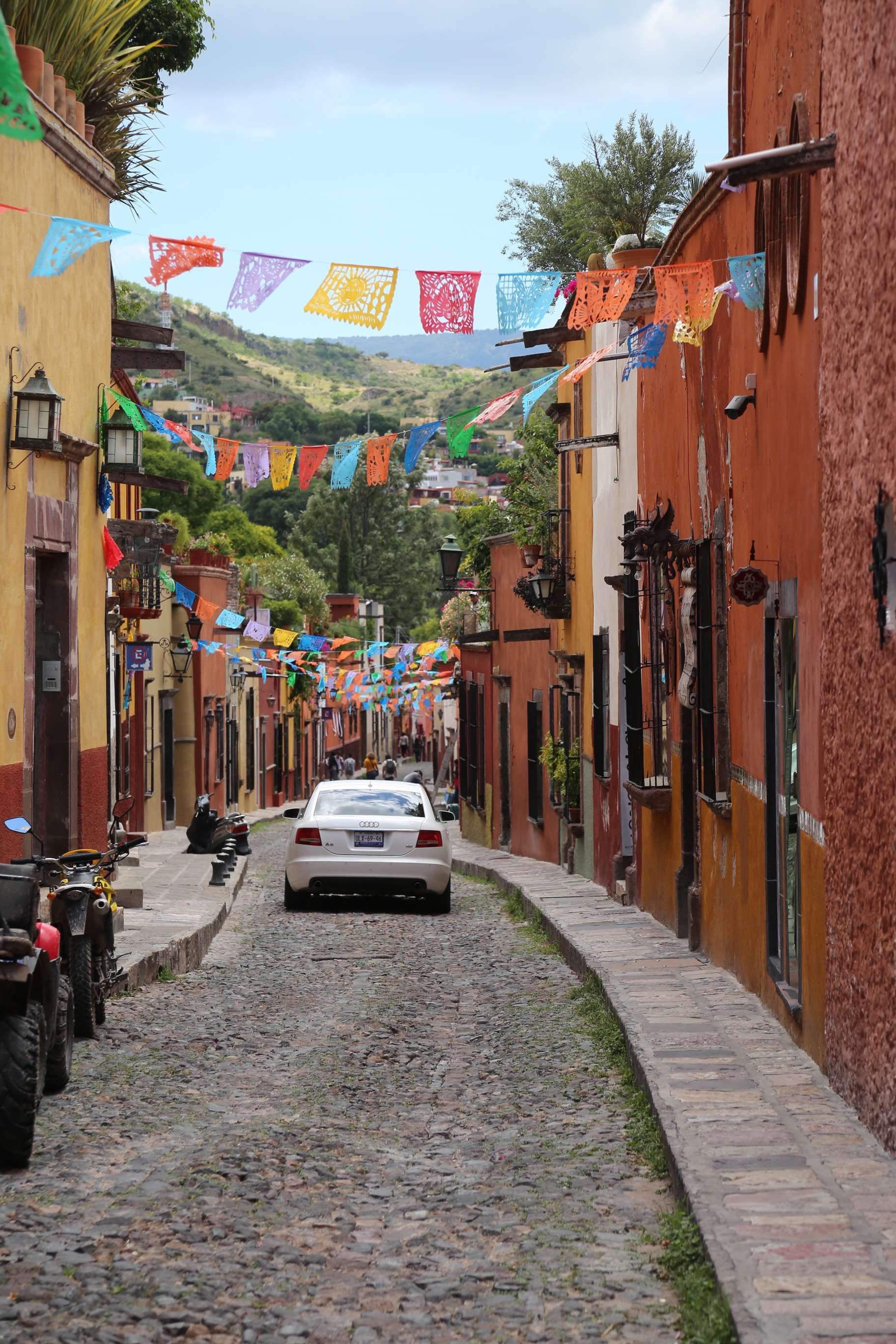 Look down almost any street in San Miguel de Allende and you will find color and charm.