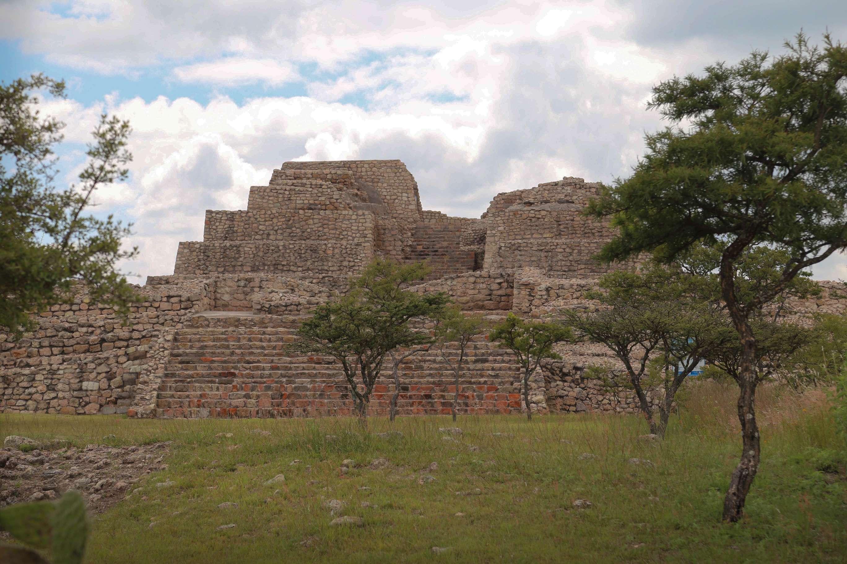 Cañada de la Virgen is the most recently-excavated pyramid in Mexico.