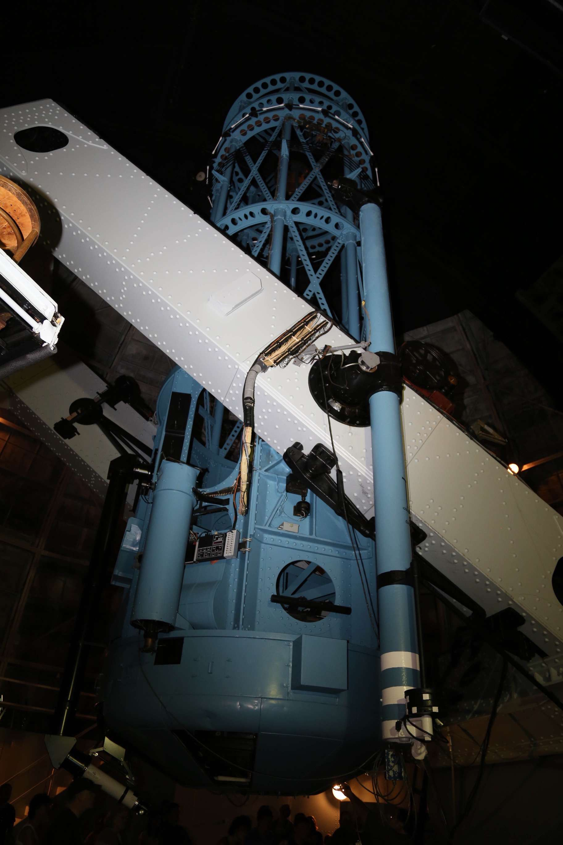 For decades, the Hooker telescope, with its 100-inch mirror was the largest telescope in the world.
