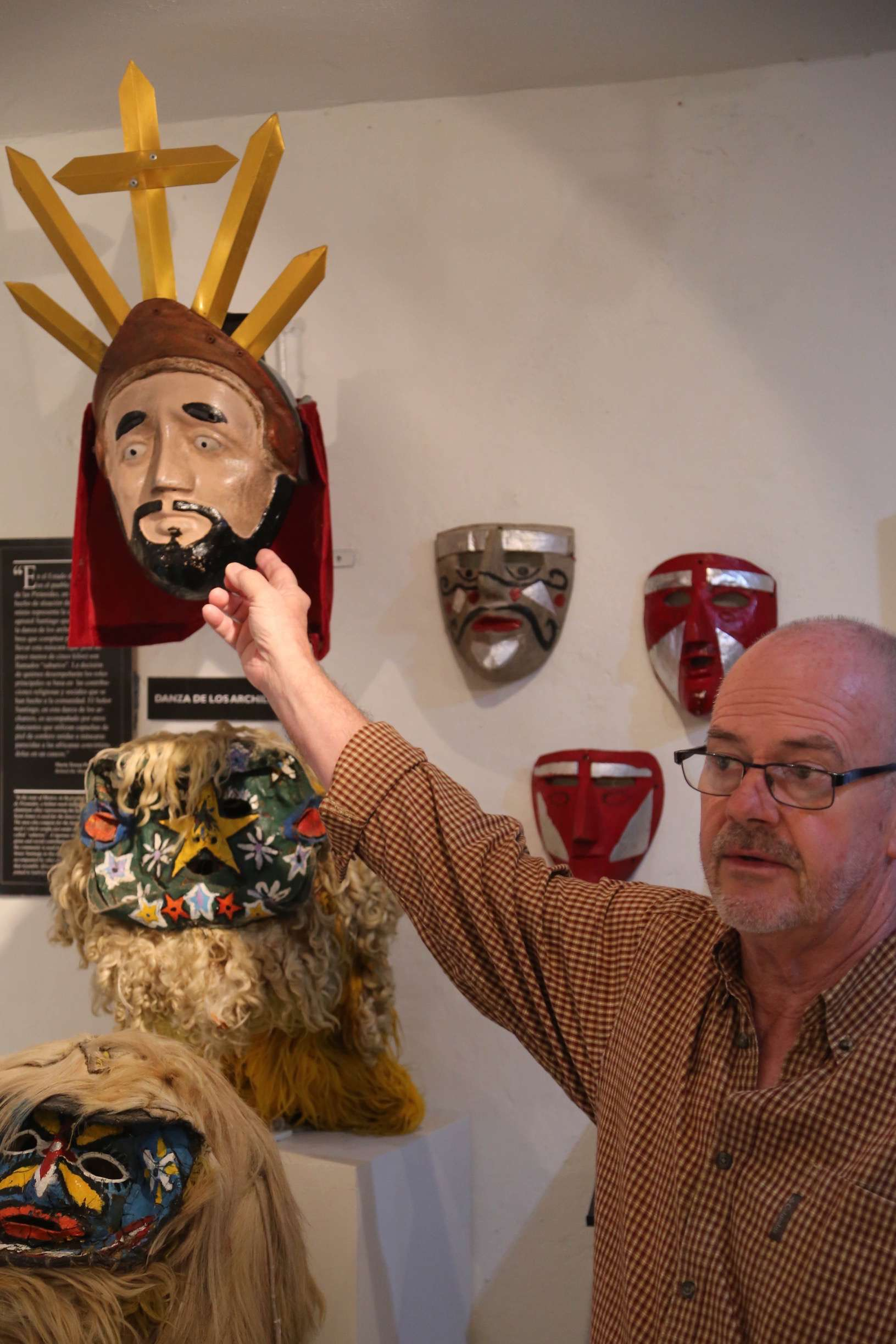 Bill LaVasseur has amassed and curated an incredible collection of ceremonial masks representing many aspects of Mexican culture.