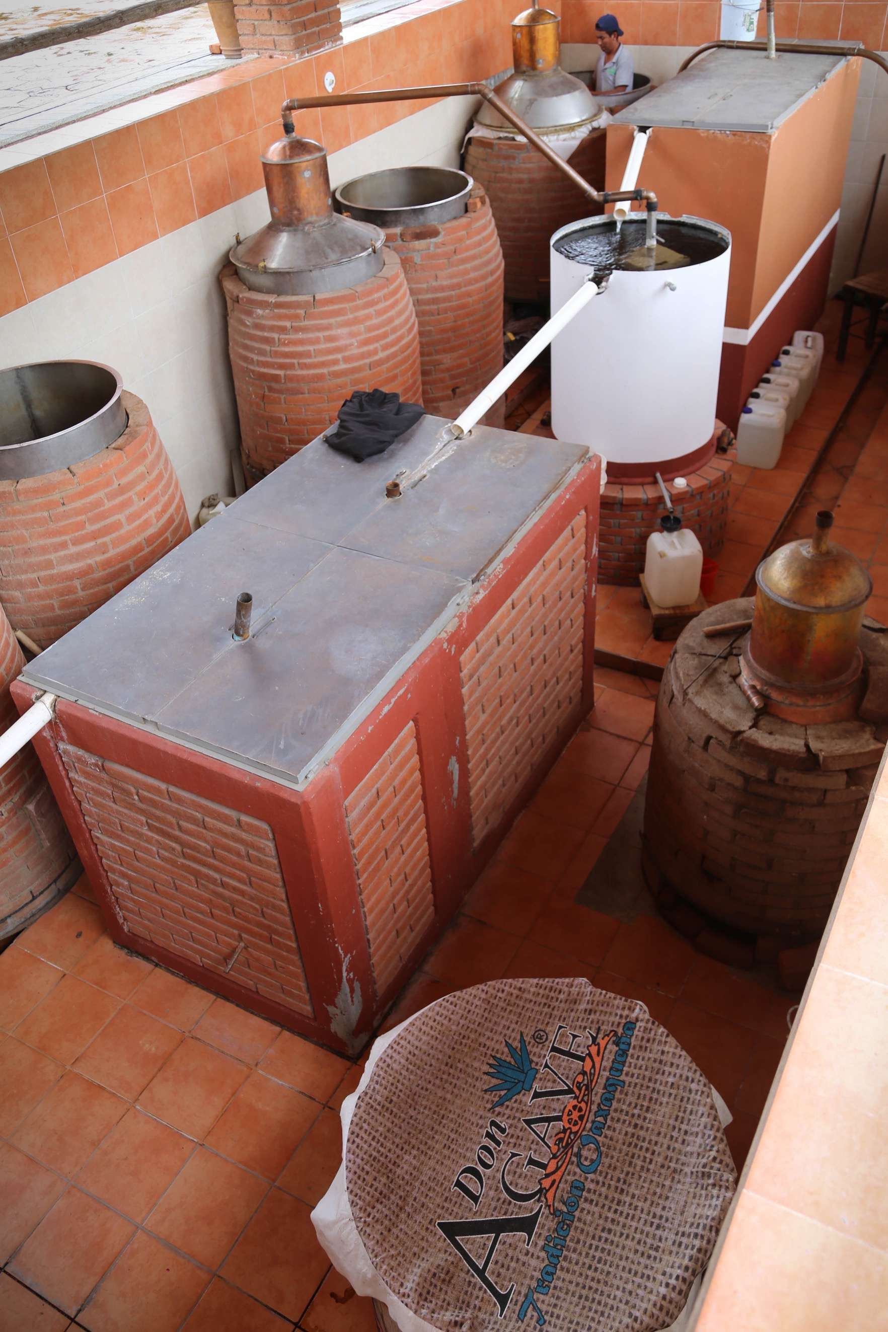 Don Agave is one of the many outstanding small-batch mezcal producers in Oaxaca.
