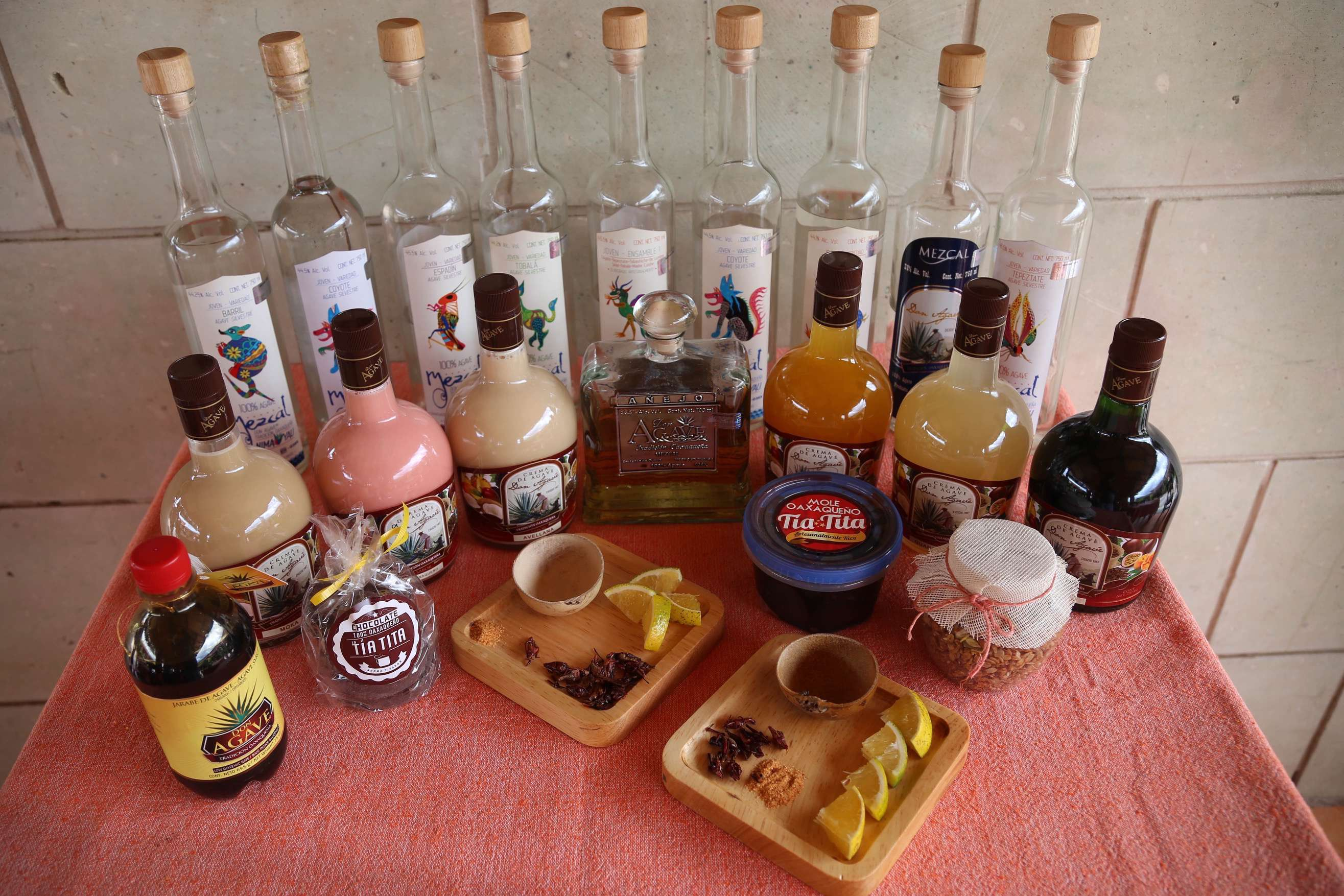 Don Agave mezcal produces some outstanding hand-crafted mezcals outside of Oaxaca, Oaxaca, Mexico.