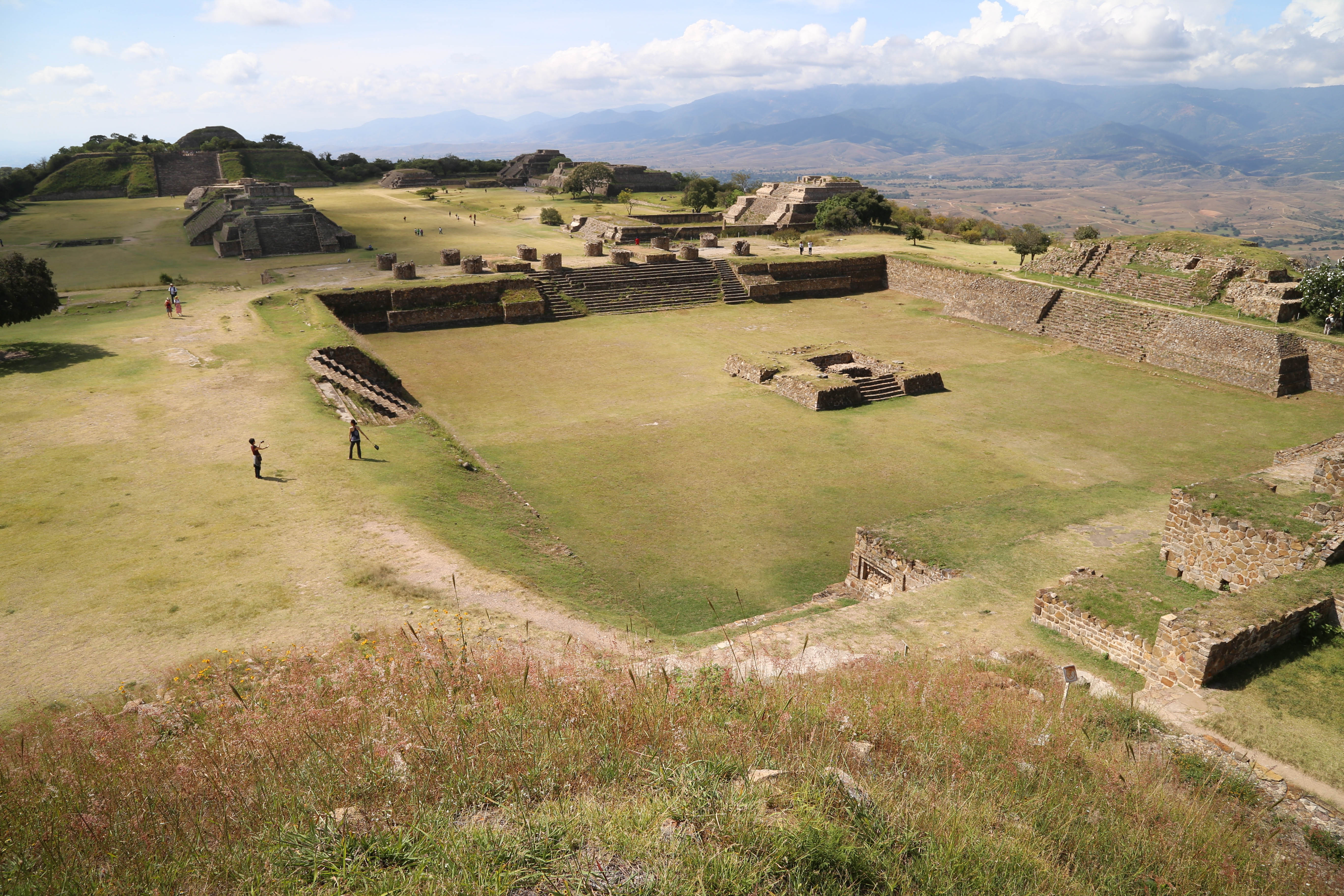 Monte Albán easily transports you back in time to when the Zapotecs called this place home.