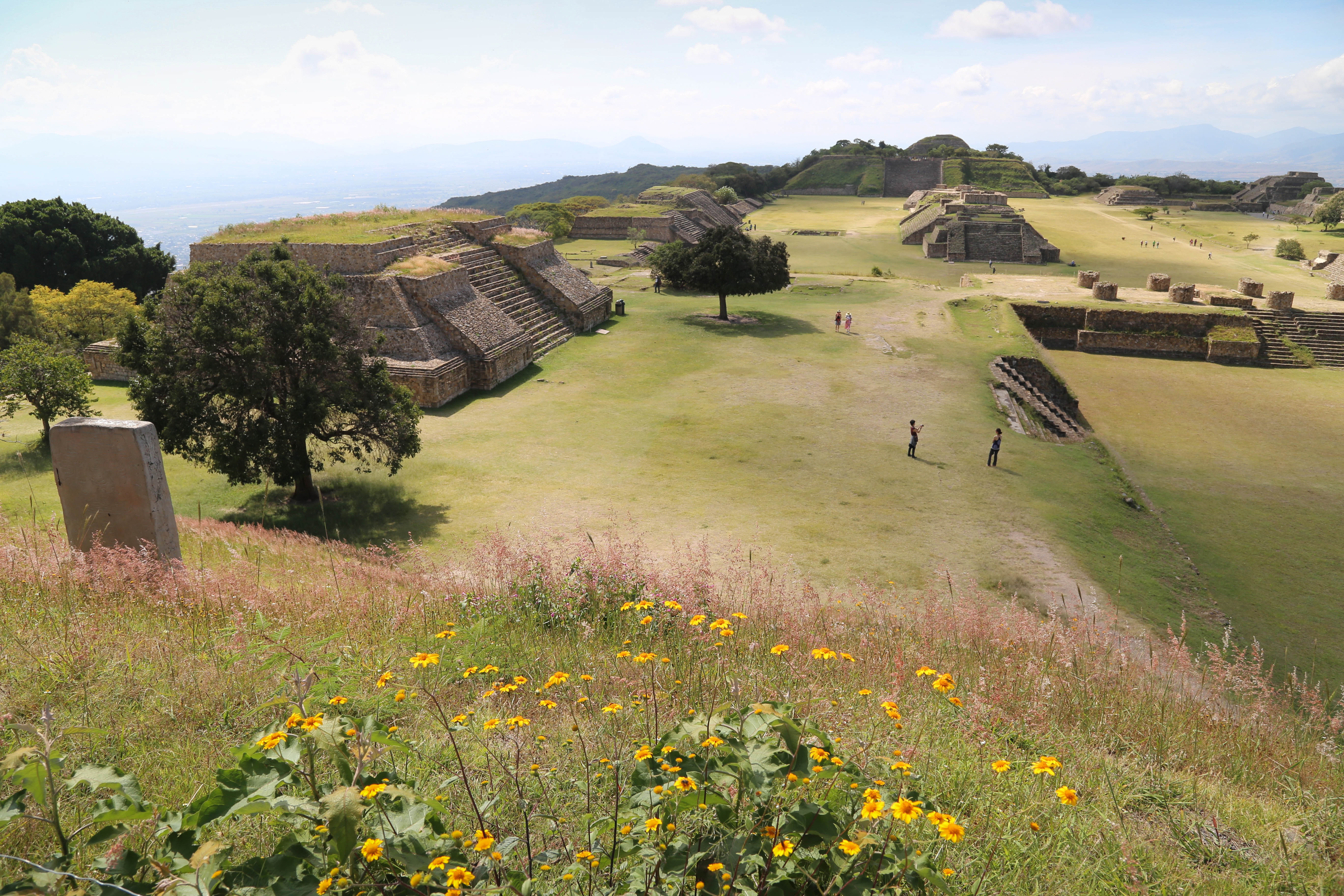 Monte Alban is one of the most-researched archaeological sites in Mexico.