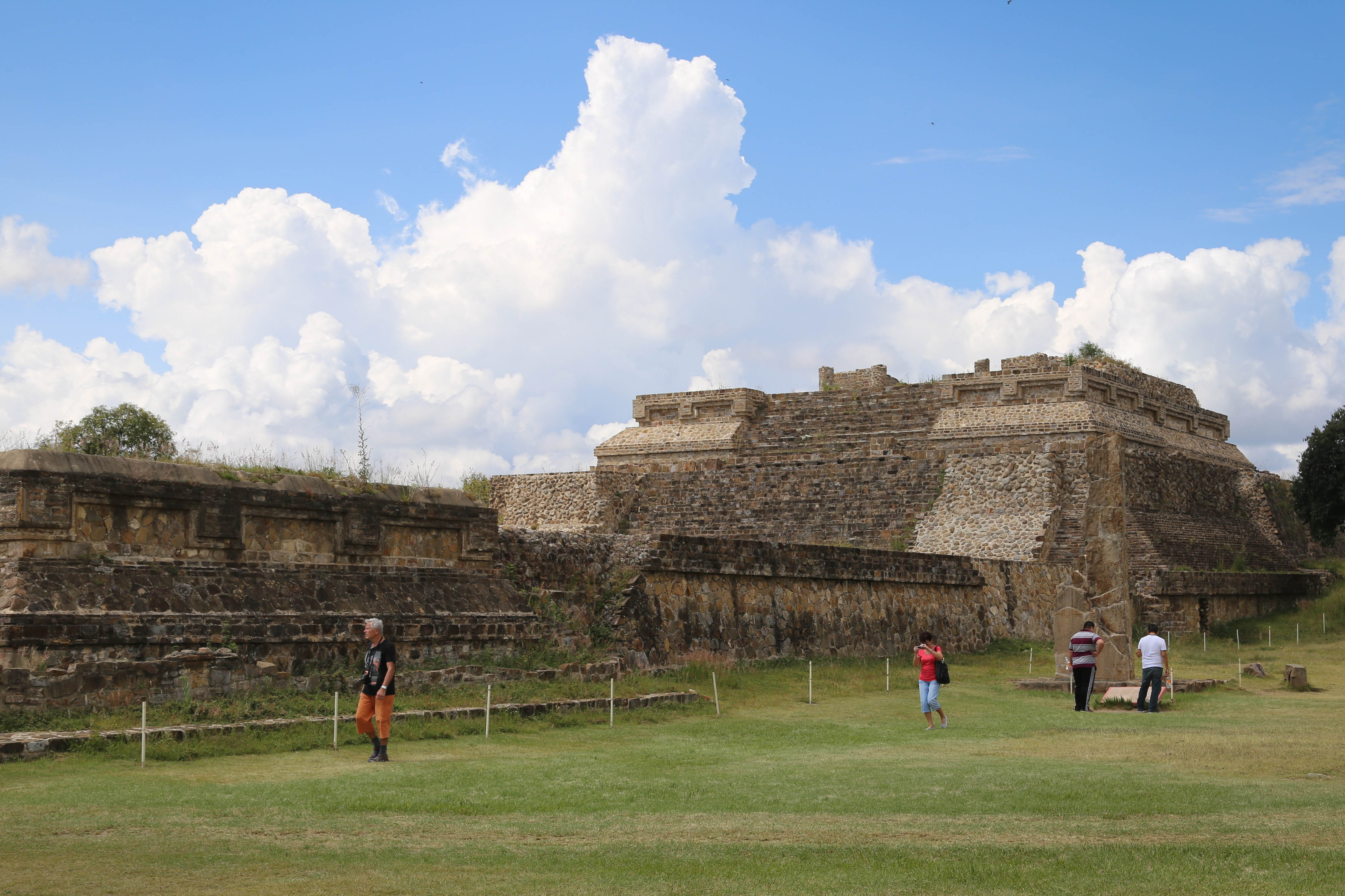 Monte Alban's location on the plateau lends a true majesty to the scene.