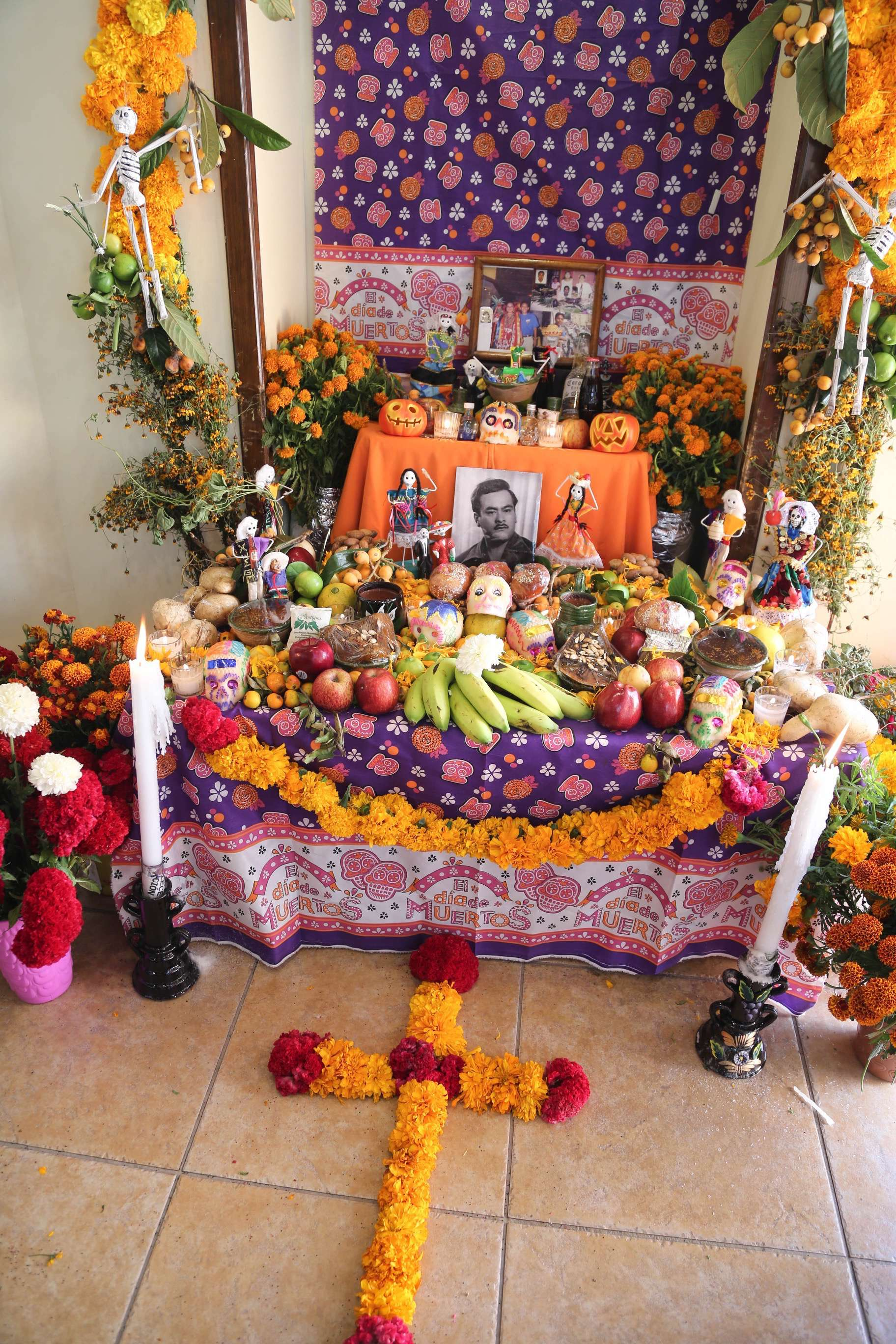 Every altar has its own personality and they can be found almost anywhere one looks when in Oaxaca during Dia de los Muertos.