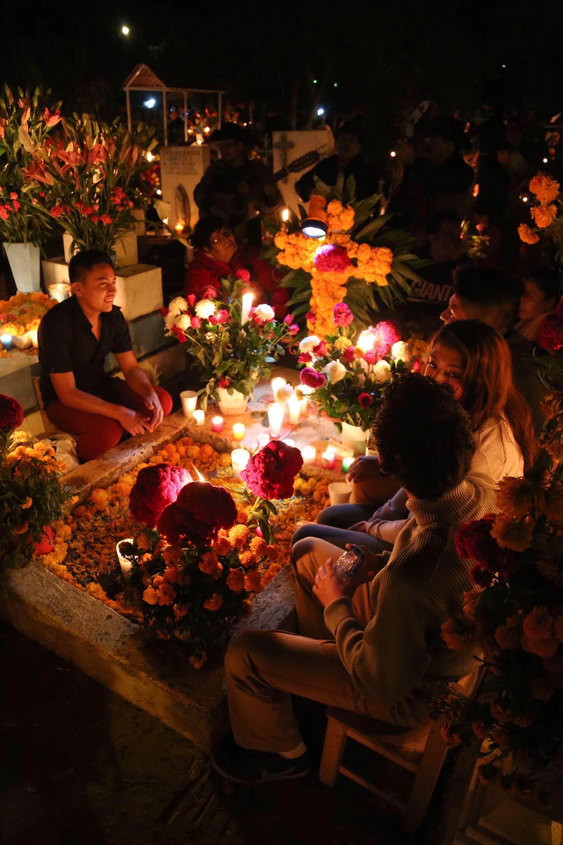 Xoxo, just outside of Oaxaca offers a more tranquil viewing of Mexico's Dia de los Muertos observance.