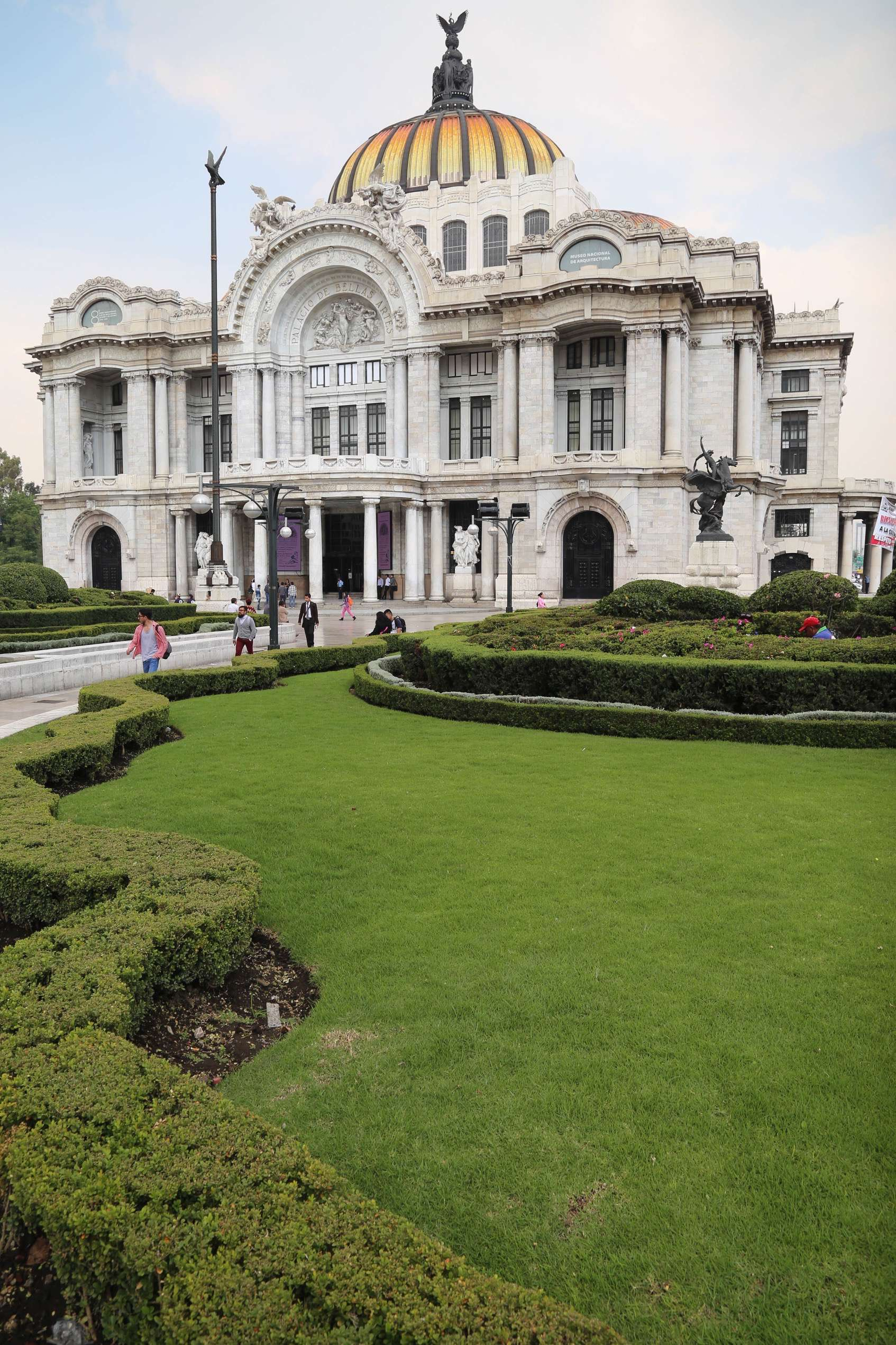 Bellas Artes is a building of stunning design, both inside and out and is located at the edge El Centro.