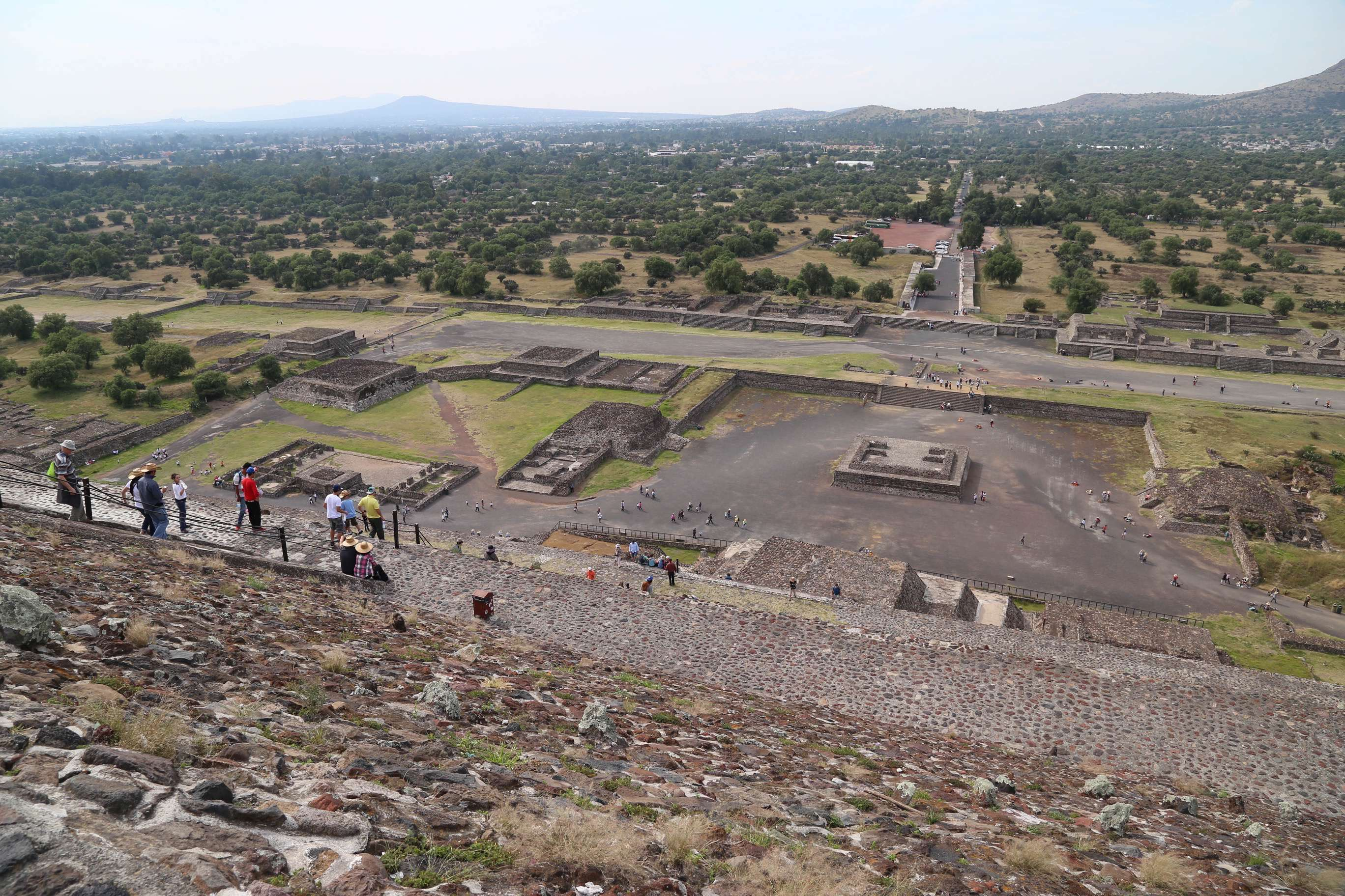 The great mysteries of Teotihuacan are who built this amazing site and why was it abandoned keeps archeologists digging for answers.