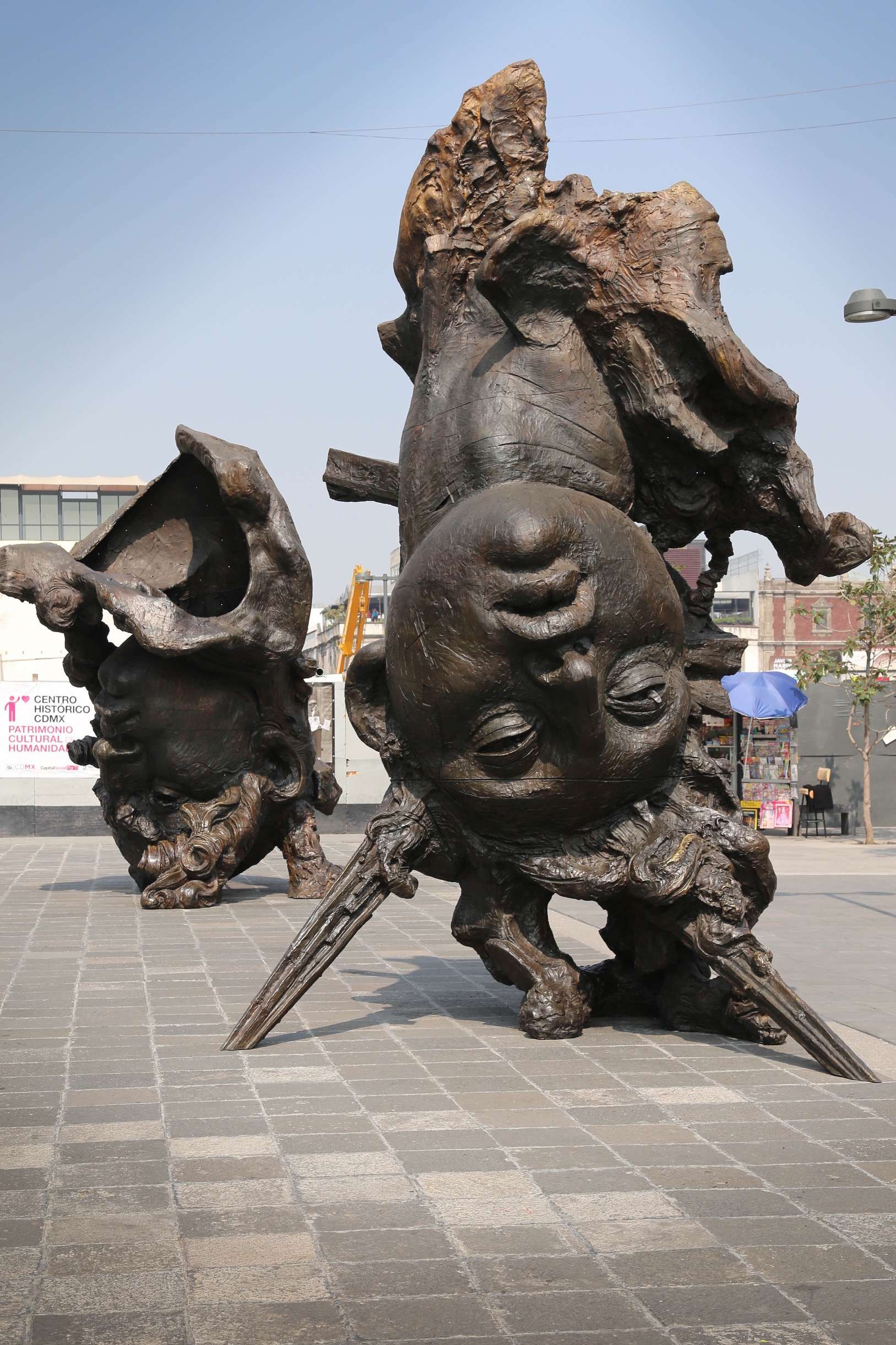 Jorge Marin is able to achieve what few sculptors are capable of; creating a sense of life on a massive scale.