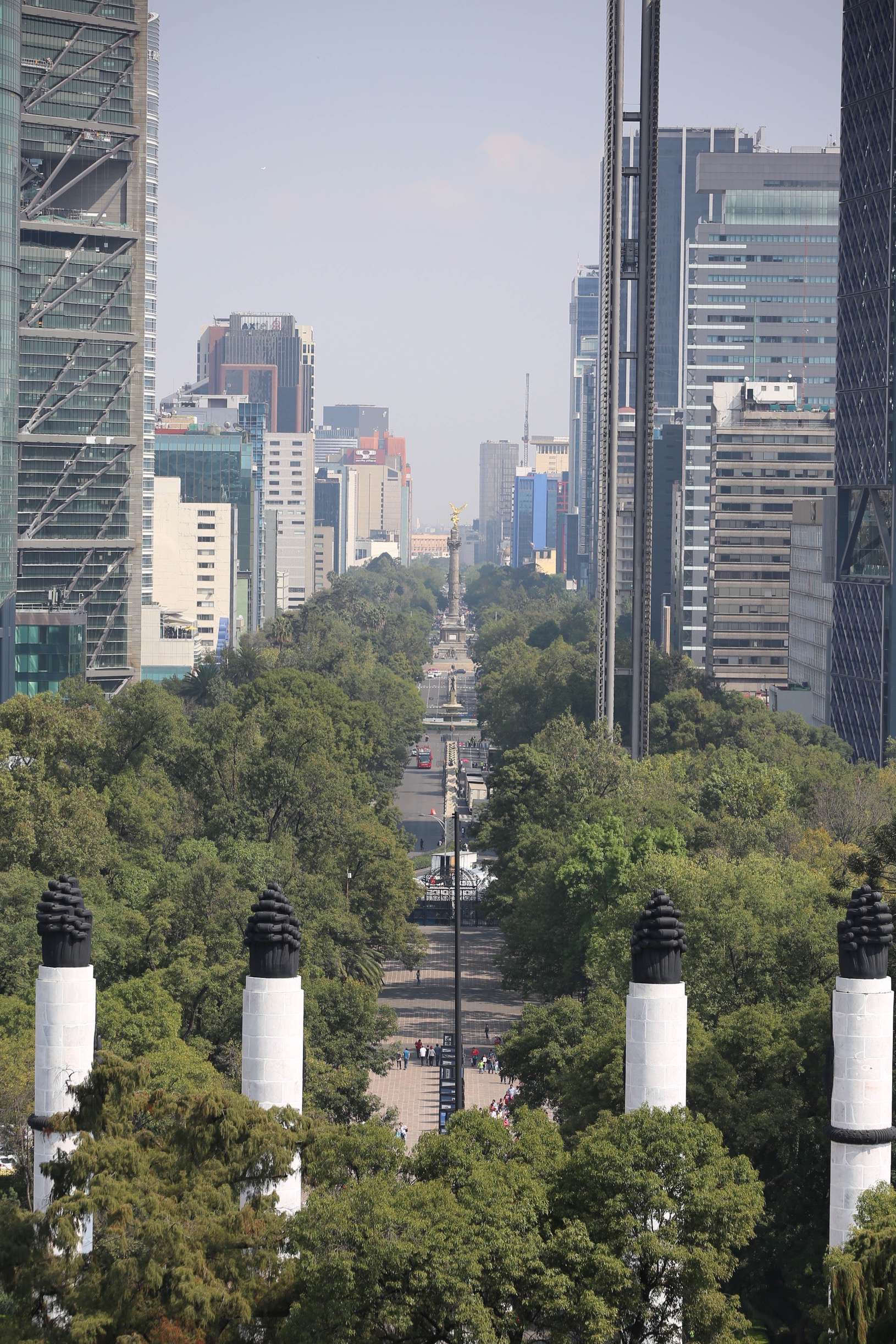 "As the traffic of Paseo de la Reforma bustles below, Mexico City was long referred to as ""DF"" (dee-effay) by locals, but soon you'll hear it referred to as CDMX (Cuidad Mexico)."