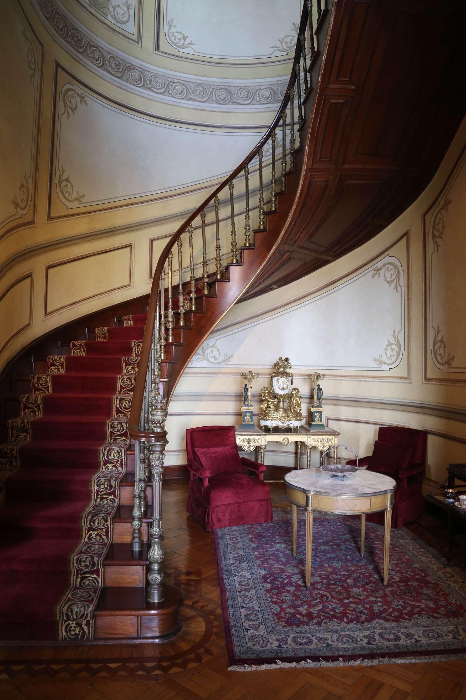 Stairwell, Chapultepec Castle.
