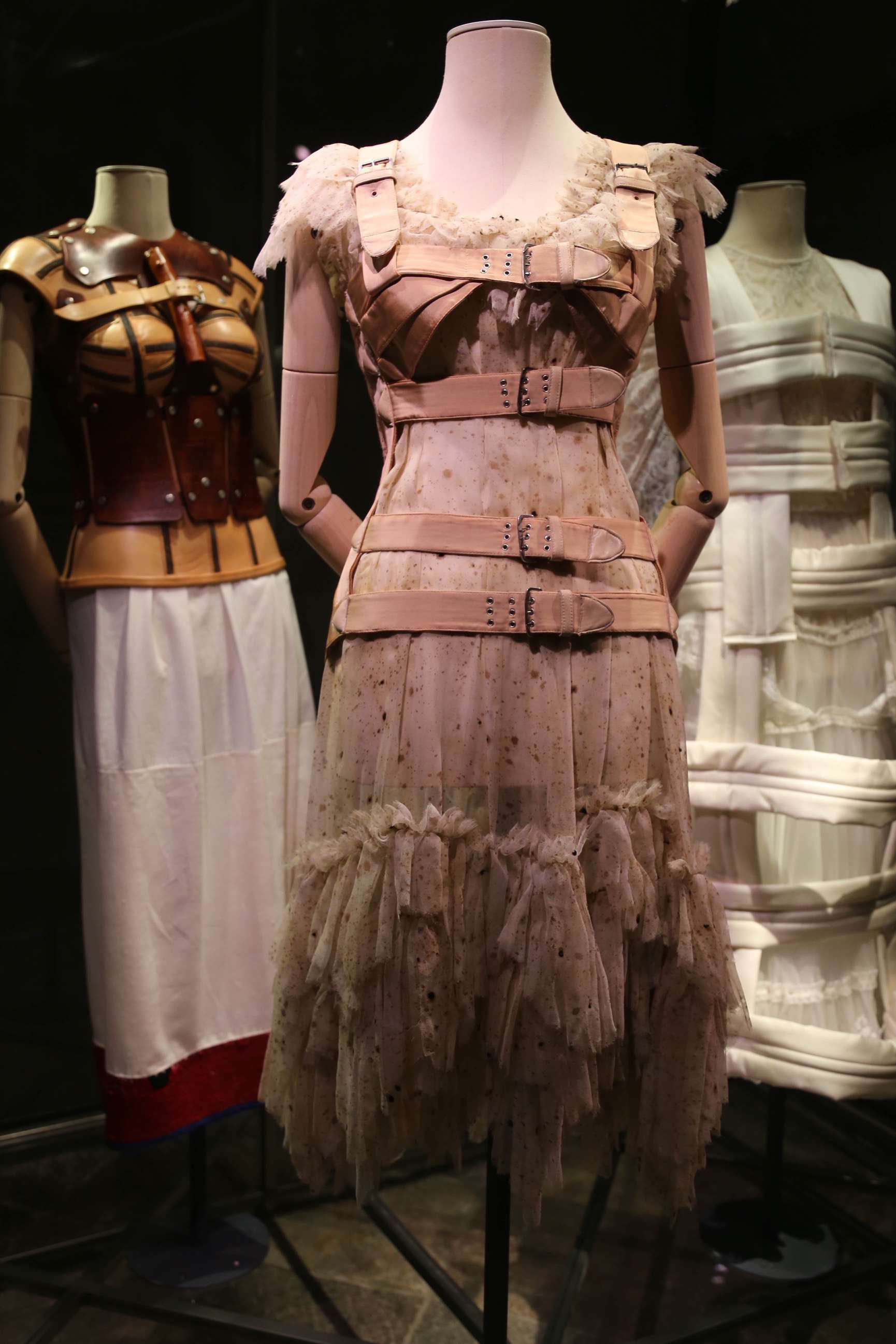 Beneath the colorful and flowing dresses Frida Kahlo wore was a cumbersome set of harnesses and braces.
