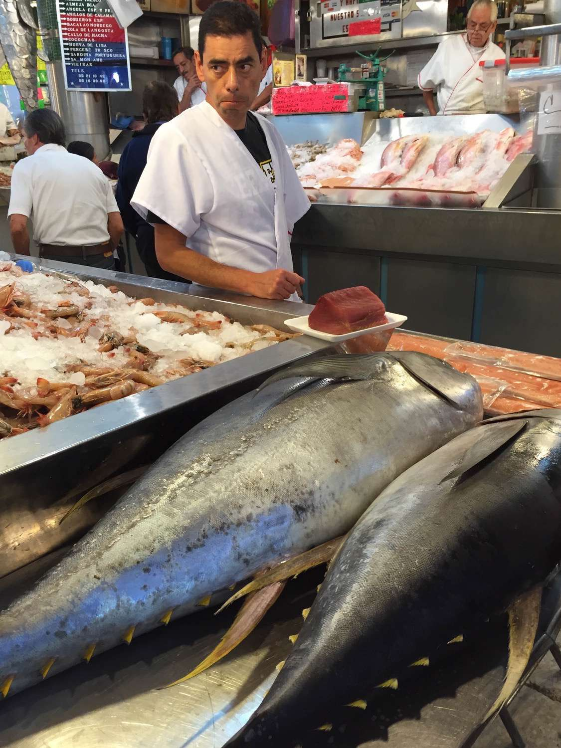 It may be an inland city, but there is plenty of great, fresh seafood to be found in Mexico City.