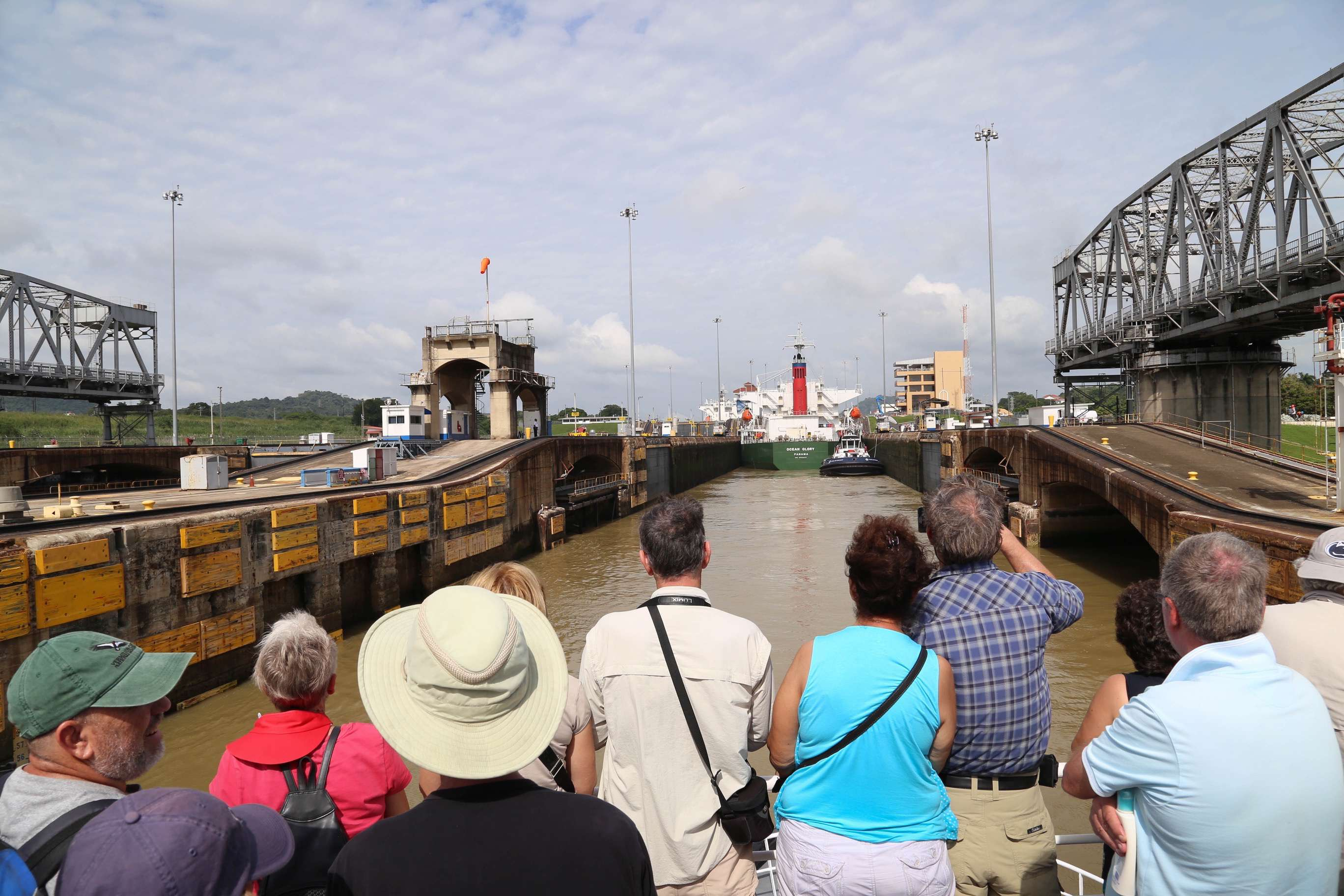 The Panama Canal is truly a marvel of engineering and visitors from around the world visit to see the canal at work.