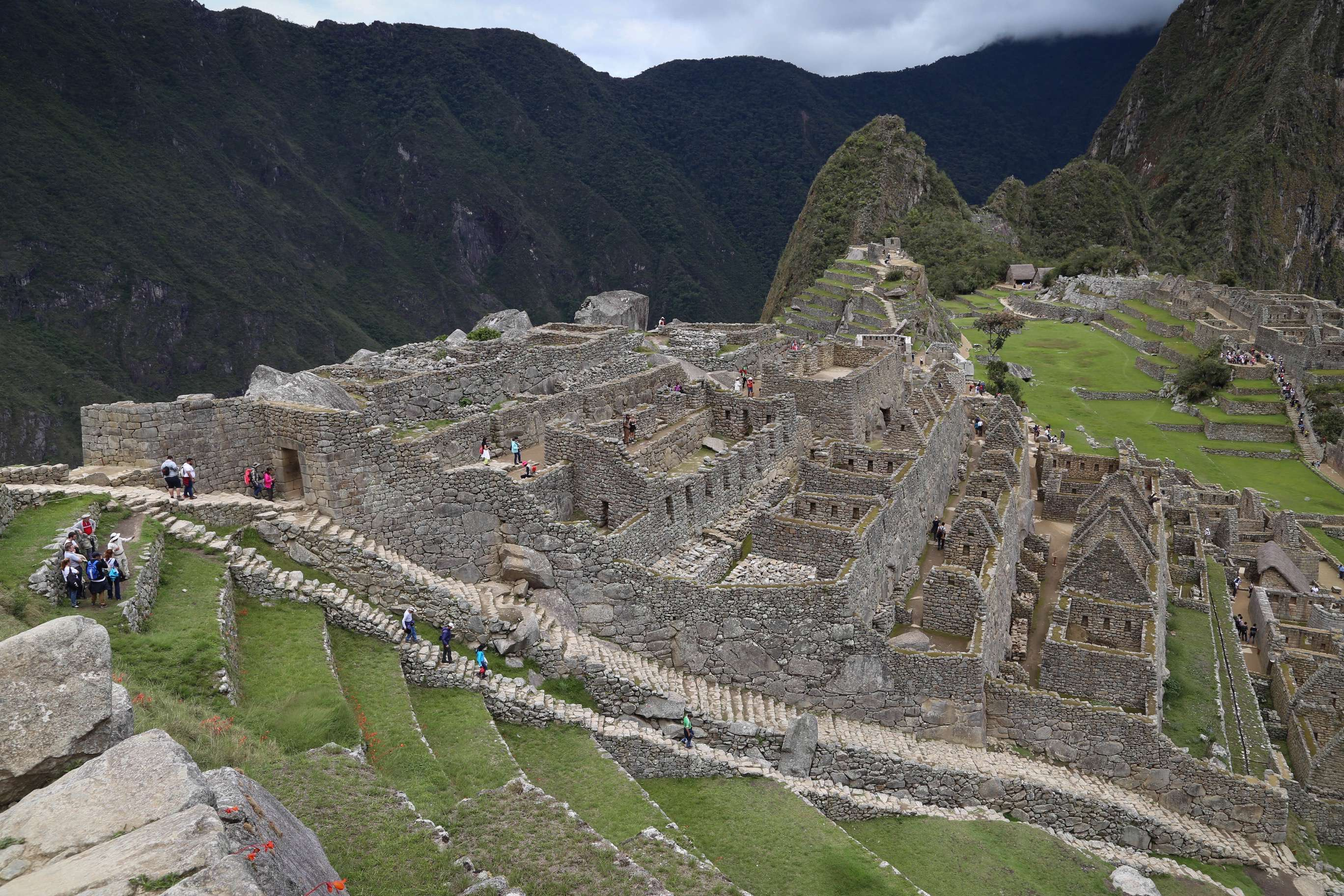 Machu Picchu is the crown jewel of the Inca Empire. Hidden away in the Andes Mountains it is the most popular visitor destination in Peru.