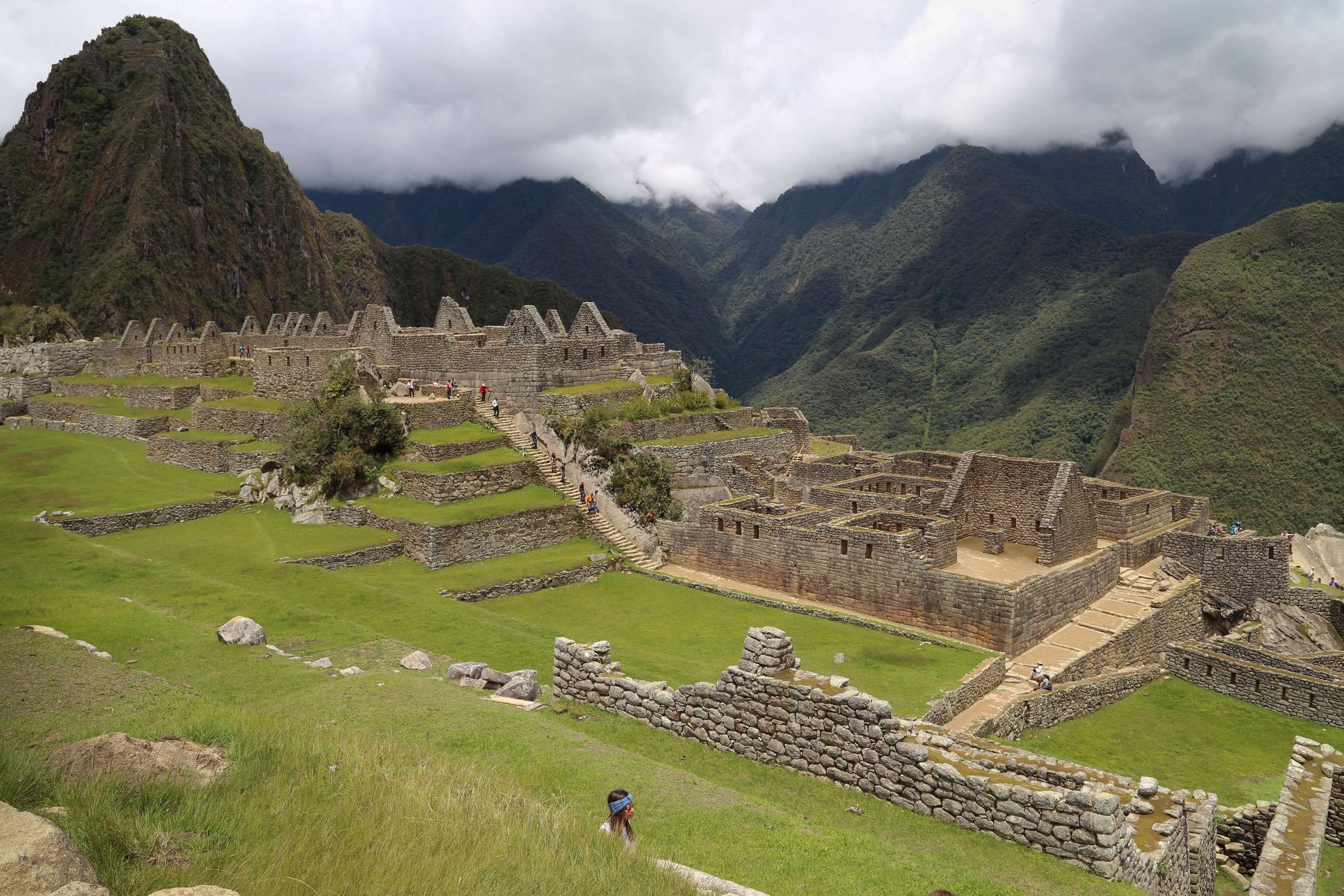 The scale of Machu Picchu is breathtaking and given its age, it is an engineering marvel.