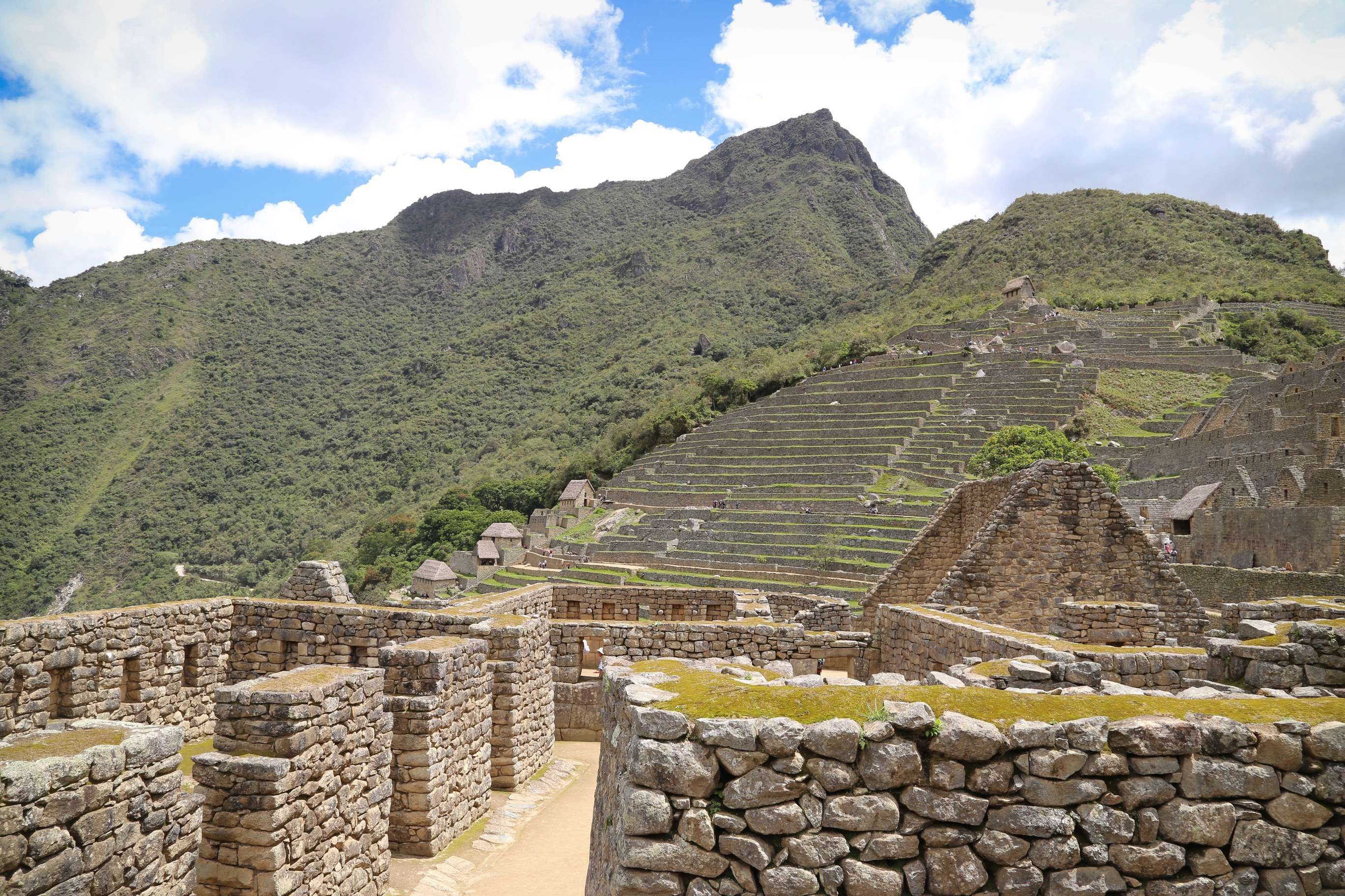 From almost any angle or perspective, Machu Picchu amazes visitors with the accomplishments of the Inca builders.