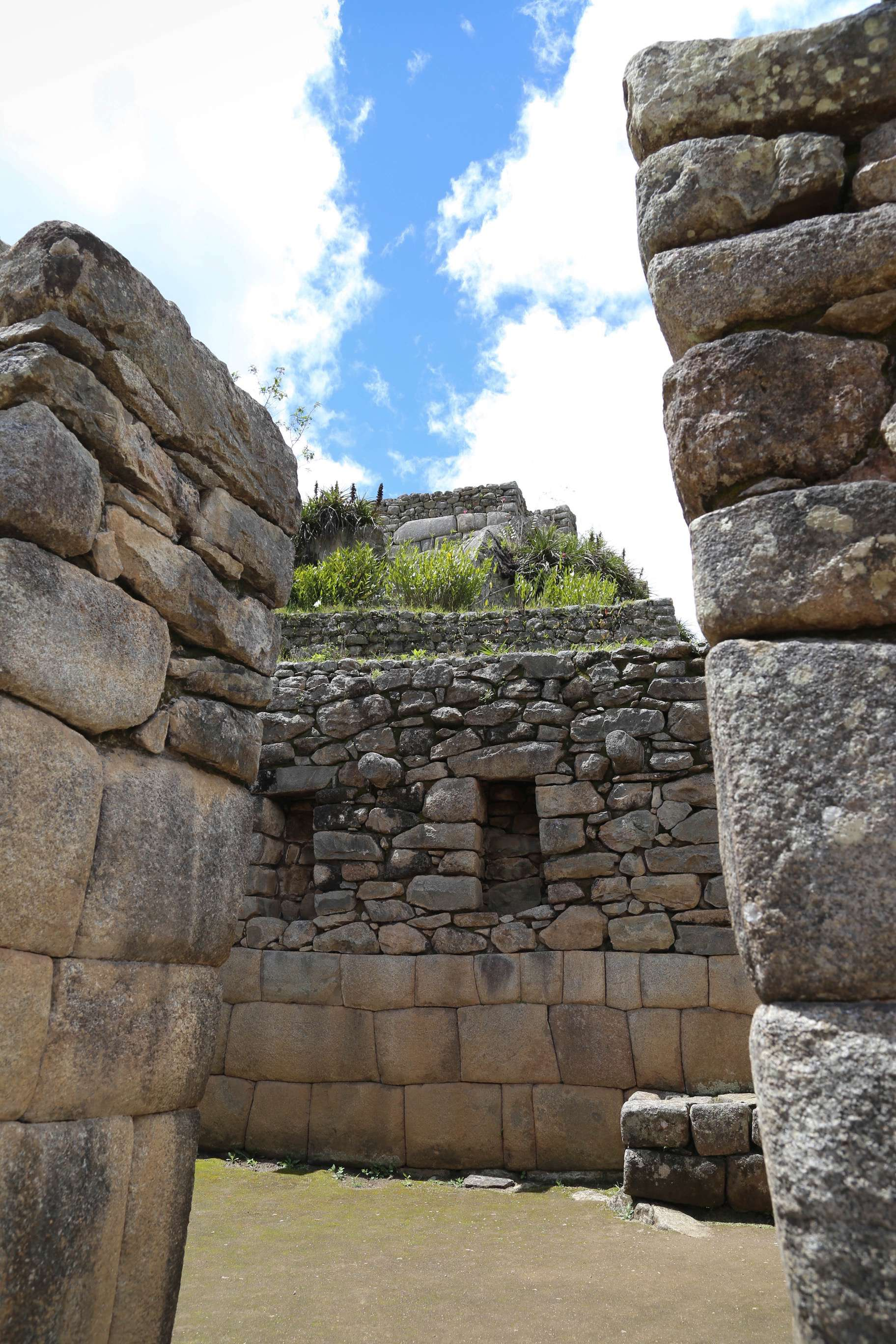 Some criticize the amount of restoration that has been done at Machu Picchu, showing the contrast with the Inca's precision and the restorer's handiwork.