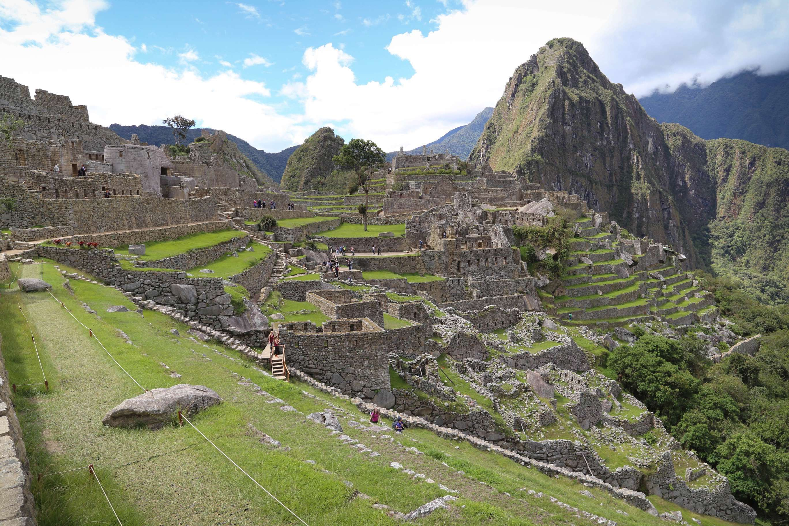 What was it like for those fortunate enough to live at Machu Picchu?