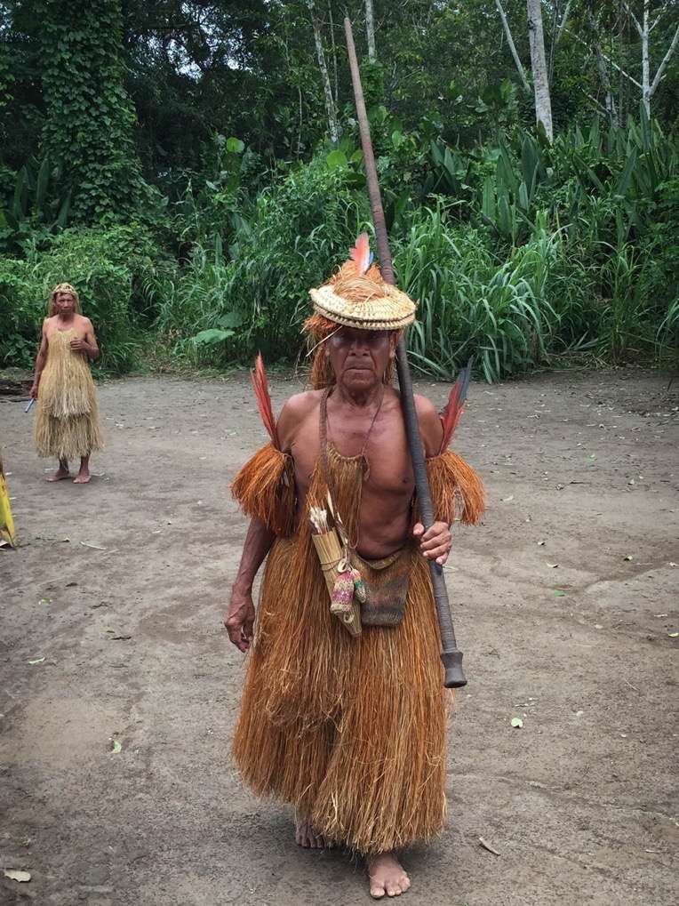 The Yagua can easily blend into the jungle, making them difficult to see.