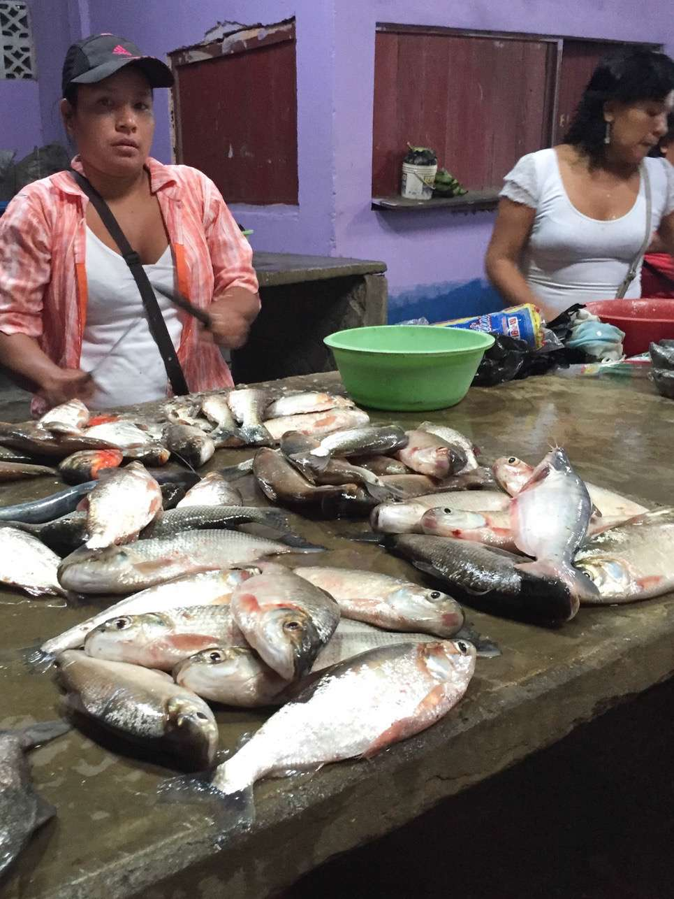 There's always plenty of fresh fish to be found at the local village markets.